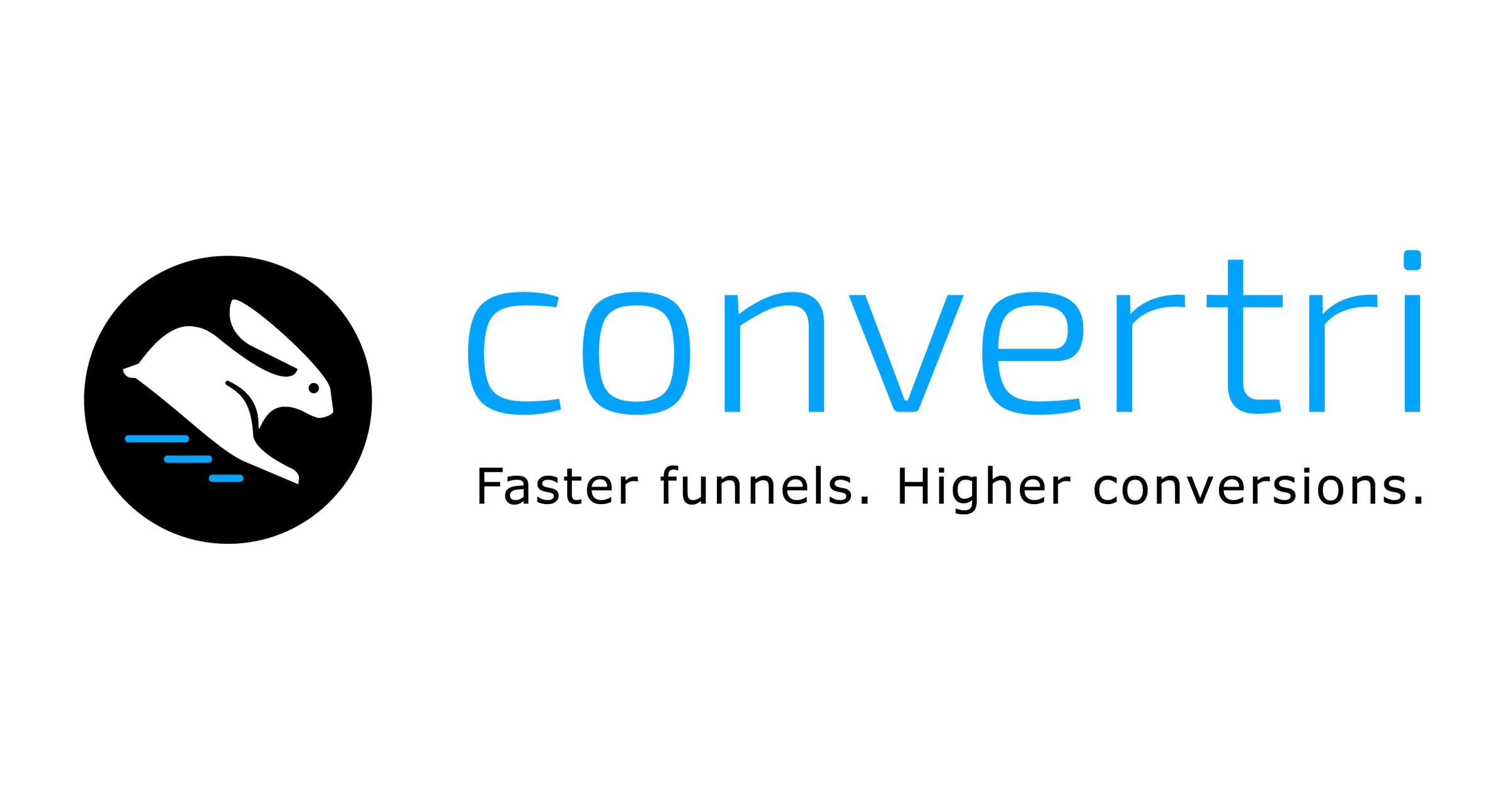 Convertri Logo - White